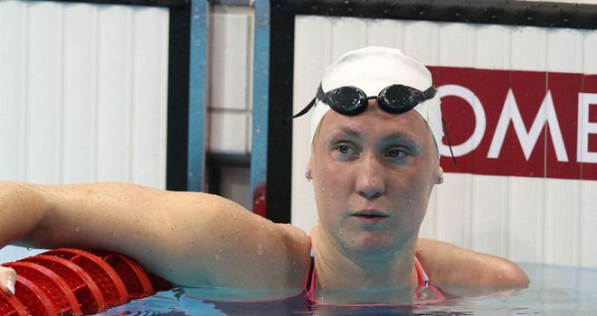 Gemma Spofforth: Florida-based swimmer touched in one minute 00.82 seconds