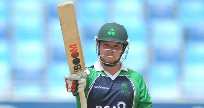 Paul Stirling: Ireland opener smashed 61 off 32 balls