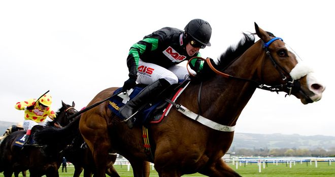 Cinders And Ashes: heads a field of just four for the StanJames.com Fighting Fifth Hurdle at Newcastle on Saturday