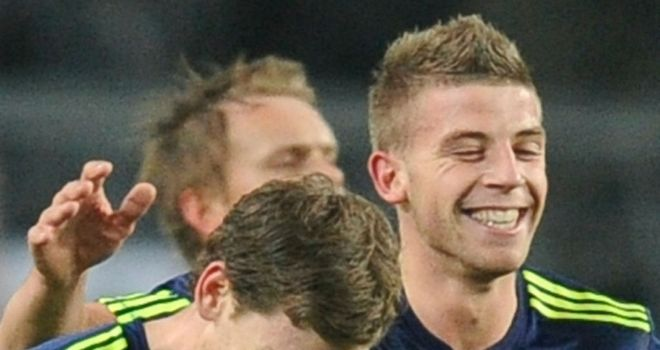 Jan Vertonghen (l): Would prove a good fit at Spurs, according to Toby Alderweireld (r)