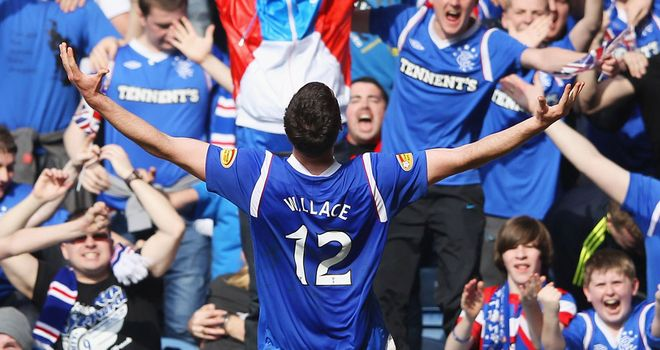 Lee Wallace: Happy to be part of the rebuilding process at Rangers