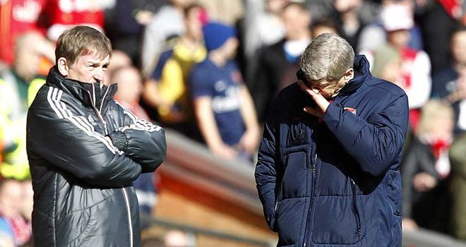 Arsene Wenger: Arsenal have a lot of fitness problems after defeating Kenny Dalglish's Liverpool
