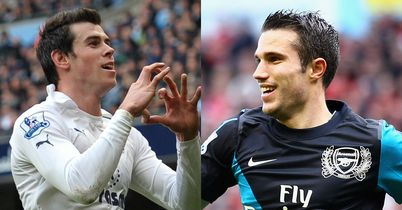 Bale and van Persie: Key men for north London rivals