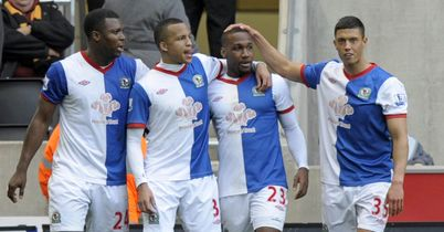 Blackburn: Tipped to win at Swansea