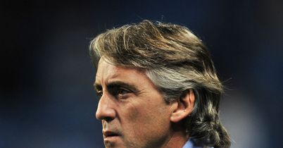 Roberto Mancini: Released his own son but Andrea Mancini now has new chance at Valladolid