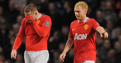 Rooney and Scholes: Disappointing for United