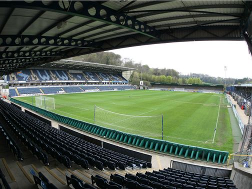 Adams Park: Match postponed due to waterlogged pitch