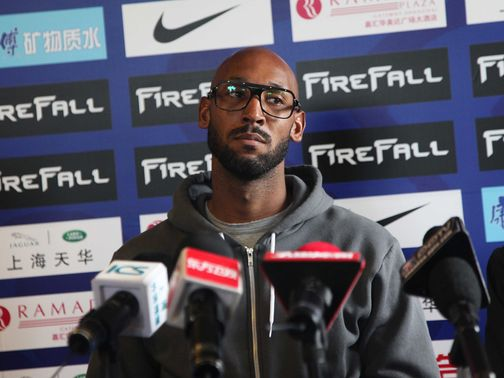Nicolas Anelka: Has a fan in Harry Redknapp