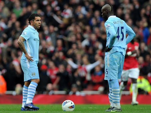 Tevez: Keen to help Balotelli avoid mistakes