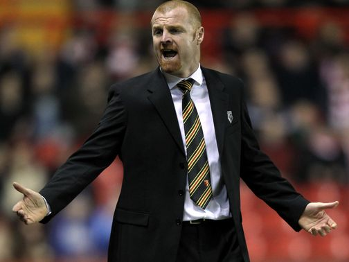 Sean Dyche: Succeeds Eddie Howe at Burnley