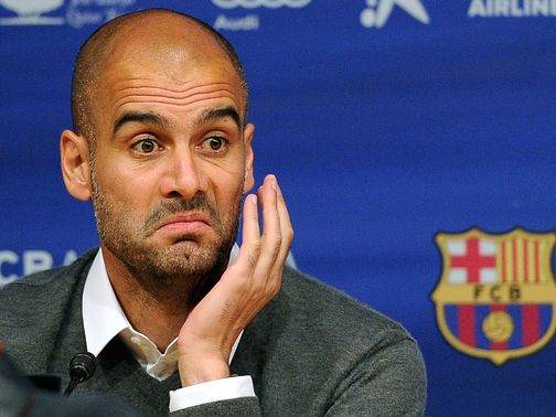 Pep Guardiola: Heavily linked with Bayern