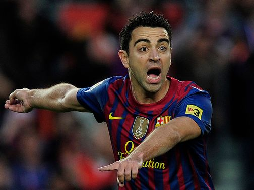 Xavi: Two years left on contract