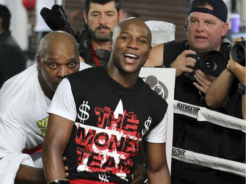 Floyd Mayweather Jr: Claimed he was going to fight Devon Alexander