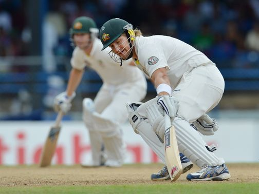 Michael Clarke says there is no row with Shane Watson.