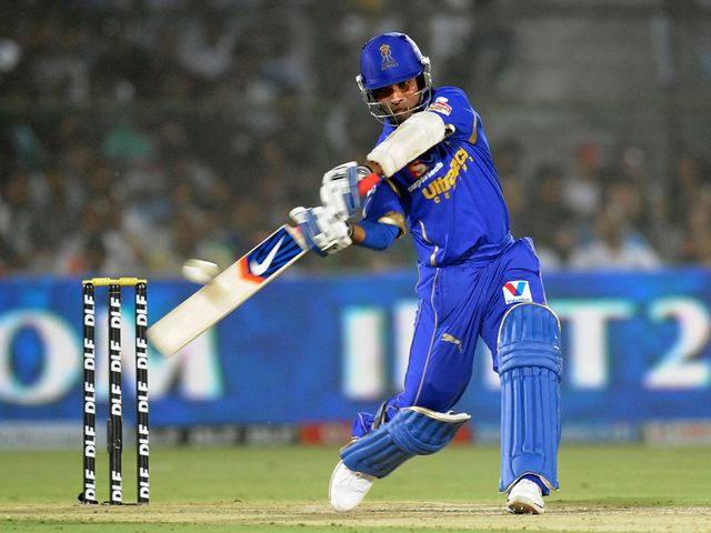 Ajinkya Rahane: Rajasthan opener dispatched eight fours and a six
