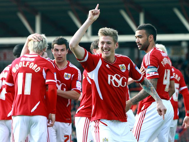Jon Stead: Star man for Bristol City