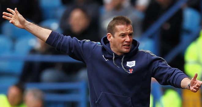 Westley: Victory for his Preston side