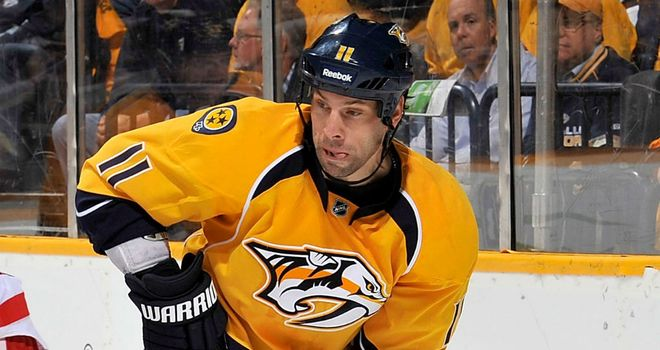 David Legwand: Scored the decisive goal for the Predators