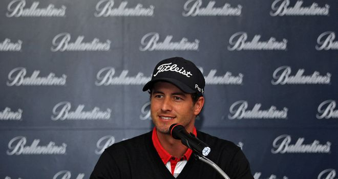Adam Scott: Seeking another European Tour win in Asia