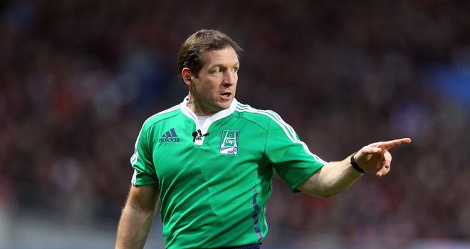 Alain Rolland: Appointed to referee England's opening Six Nations game against Scotland