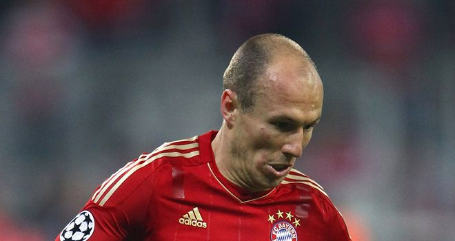 Arjen Robben: Scored from the spot in the first half against Real Madrid