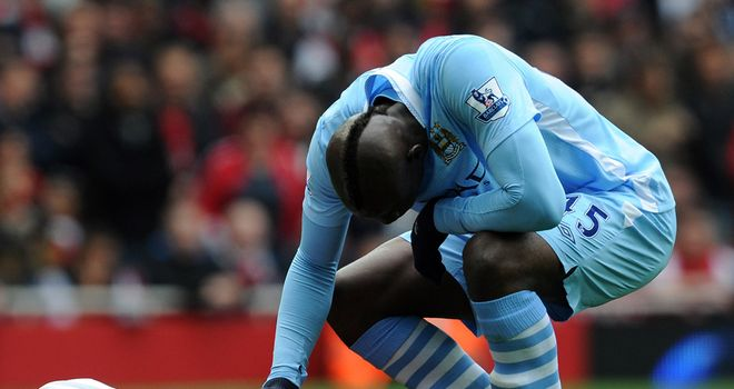 Mario Balotelli: Will not face disciplinary action over studs-up challenge on Song