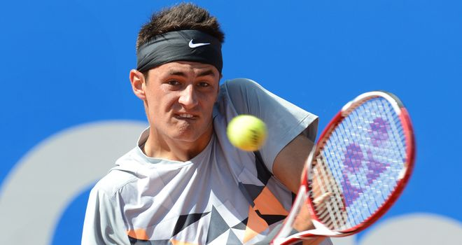 Bernard Tomic: Will now face Novak Djokovic