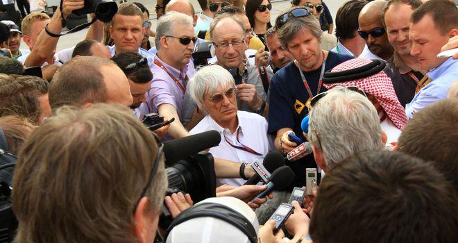 Bernie Ecclestone: No concerns about Bahrain GP