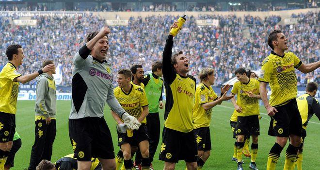 Borussia Dortmund crowned Bundesliga champions again
