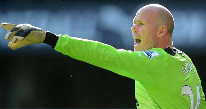 Brad Friedel: Has made 42 league appearances for Spurs since joining from Aston Villa in July 2011