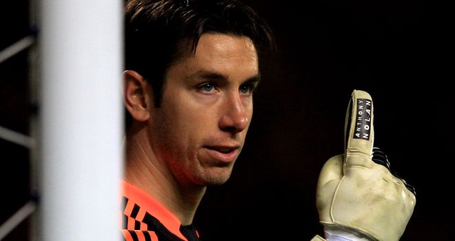 Brad Jones: The 30-year-old made his first ever Premier League appearance for Liverpool on Tuesday