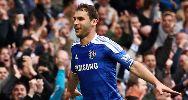 Branislav Ivanovic: Could miss matches against Tottenham, Arsenal and QPR