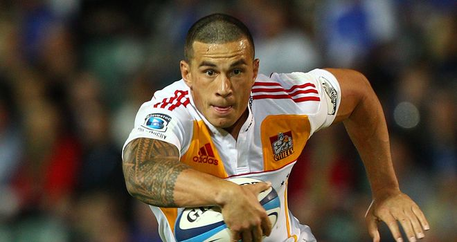 Sonny Bill Williams: Will join the Panasonic Wild Knights