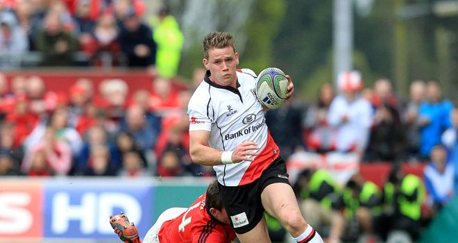Craig Gilroy: Speedy winger signs new three-year deal with Ulster