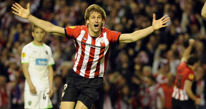 Llorente: On target for Athletic Bilbao