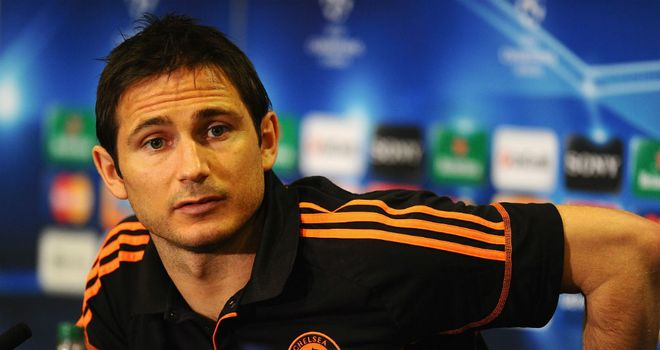 Frank Lampard: Speculation suggests the midfielder will be sold in the summer
