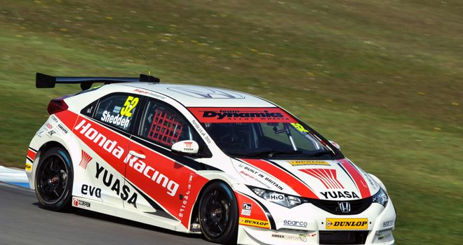 Gordon Shedden: Ready for BTCC title showdown at Brands Hatch