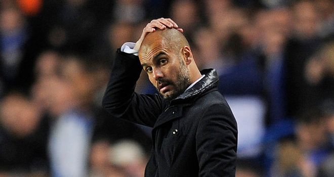 Pep Guardiola: Remains optimistic Barca can overthrow Chelsea