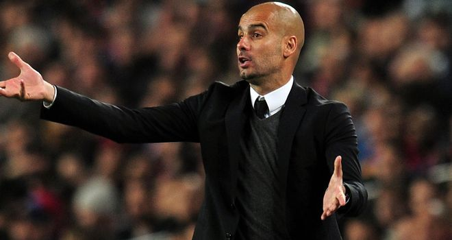Pep Guardiola: Linked with the AC Milan job but Adriano Galliani has played down speculation