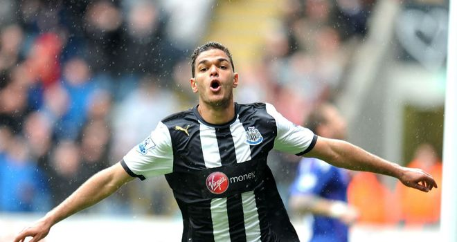 Hatem Ben Arfa: The Newcastle man could only look on and watch as France crashed  out of Euro 2012