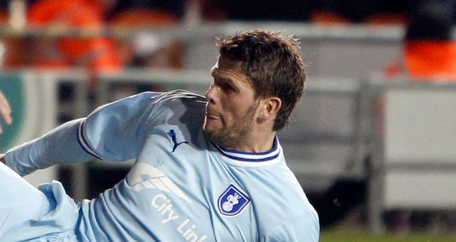 Hermann Hreidarsson: Among four players to have been released by Coventry