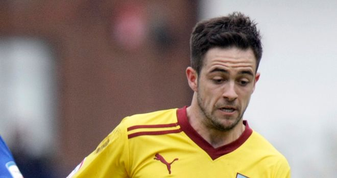 Danny Ings: Burnley forward injured his knee on Tuesday