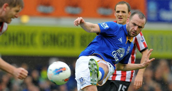James McFadden: Training with Sunderland as he looks to win a move to the Stadium of Light
