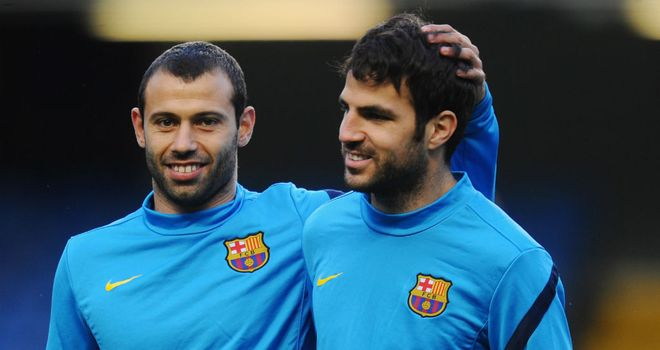 Javier Mascherano: Barcelona midfielder extends his contract with the club