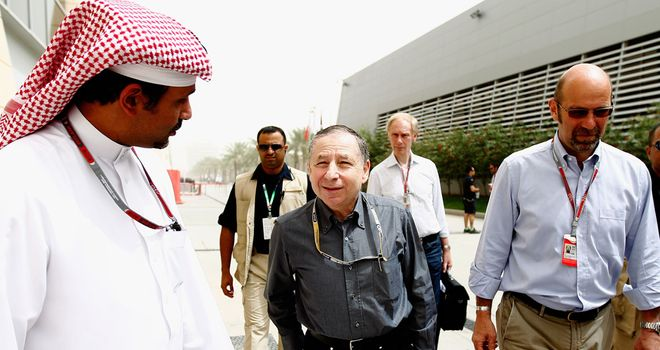 Jean Todt: Represents the FIA's interests in the ongoing talks