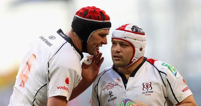 Muller and Best: combine well for Ulster