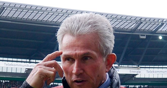 Jupp Heynckes: Isn't afraid to name the same team