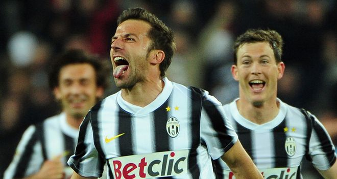 Alessandro Del Piero: Came off the bench to notch Juventus' winner
