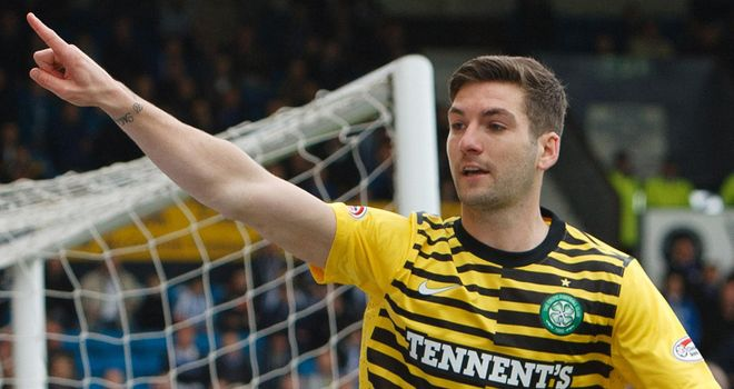 Charlie Mulgrew: Recognised as the Player of the year by PFA Scotland