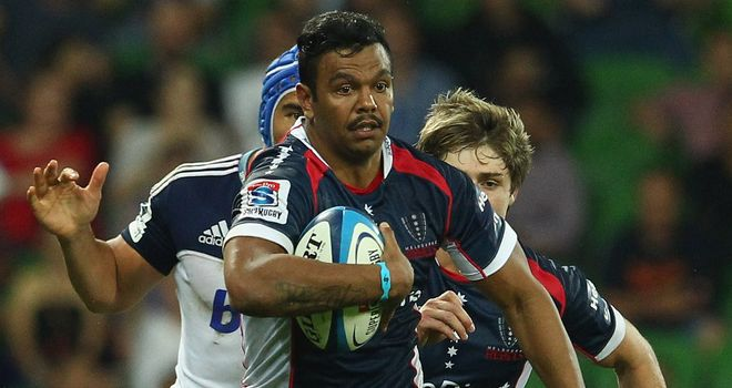 Kurtley Beale: Scored the opening try of the match